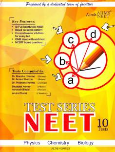 NEET TEST SERIES -10 TESTS SET PAPER (P,C,B) WITH SOLUTION