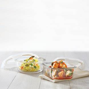 BOROSIL  - 720 ml Glass Grocery Container