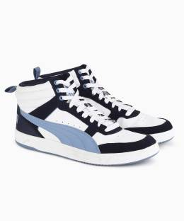 Puma Rebound Street v2 Sneakers For Men - Buy Gray Violet-Toreador ... aed75999c