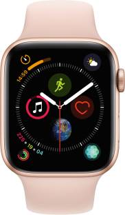 APPLE Watch Series 4 GPS 44 mm Gold Aluminium Case with Pink Sand Sport Band