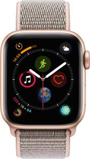 APPLE Watch Series 4 GPS 40 mm Gold Aluminium Case with Pink Sand Sport Loop