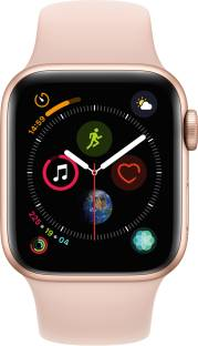 APPLE Watch Series 4 GPS 40 mm Gold Aluminium Case with Pink Sand Sport Band