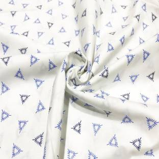 V Walkers Satin Printed Shirt Fabric Price In India Buy V Walkers