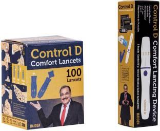 Control D Lancing Device & 100 Glucometer Lancets