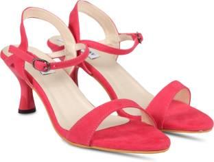 8b2aad893f55 ALDO Women Pink Heels - Buy ALDO Women Pink Heels Online at Best ...