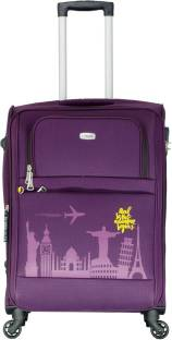9b1cd7935 TIMUS Salsa Wine 65 CM 4 Wheel Strolley Suitcase For Travel ( Check-in  Luggage