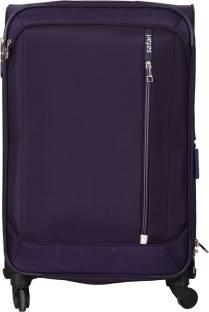 56d309b9b27 Safari Water resistance 4 Wheel Trolley Bag Expandable Cabin Luggage ...