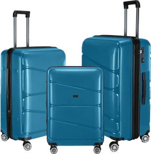 eb341c0fc551 Nasher Miles Warrior Green 20-24-28S3 Expandable Check-in Luggage - 28 inch