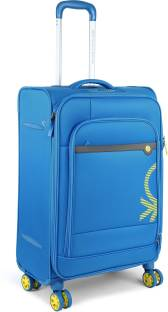 a121209b27bd United Colors of Benetton Soft Luggage Strolly Expandable Check-in Luggage  - 26 inch