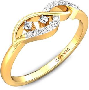 Candere by Kalyan Jewellers BIS Hallmark 18kt Diamond Yellow