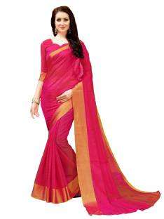 f86be3c288a8d Sariya Colorblock Fashion Silk Saree