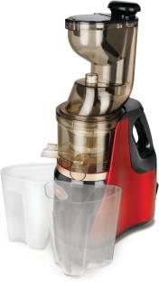 Pigeon Modern Cucina Slow Juicer 1.0 150 W Juicer (2 Jars, Cherry Red, Grey)