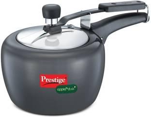 Prestige Apple Duo 2 L Induction Bottom Pressure Cooker