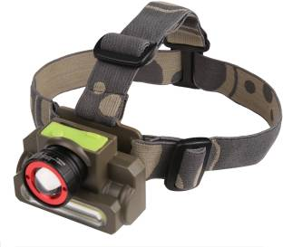 DOCOSS 2 in 1 Ultra Bright Zoomable Waterproof Cree Rechargeable Head torch light Headlight Head Lamp ...