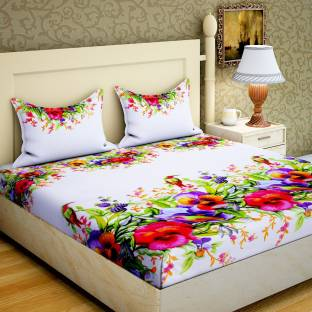 60b60d9b0c3fbf Upto 70% OFF On Zesture Double Printed Cotton Bedsheets With 2 ...