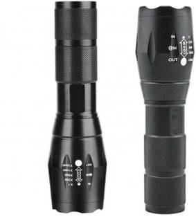 Care 4 5 modes Small sun Cree Xlm - t6 (650) Zoom able High power Long range Rechargeable flashlight W...