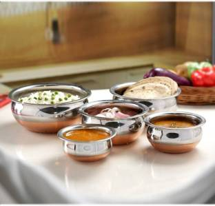 Classic Essential Copper bottom induction friendly handi Induction Bottom Cookware Set