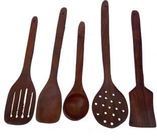 AK Handicrafts akwd155 Wooden Spatula