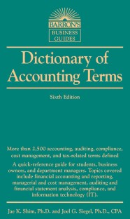 Accounting Dictionary of 4,000 US-GAAP Terms