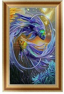 DIY 5D Diamond Embroidery Girl Dragon Painting Cross Stitch Craft Home Decor