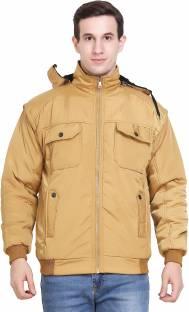da75f1f63 British Club Full Sleeve Solid Men's Jacket - Buy Khaki British Club ...