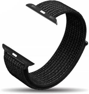 HIGAR Classic Double Layer Woven Nylon band for 38mm / 40mm iwatch Smart Watch Strap