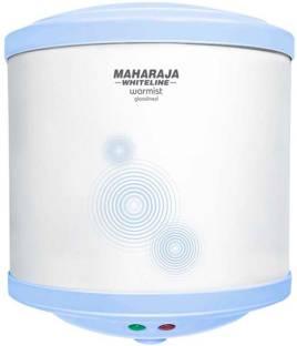 MAHARAJA WHITELINE 15 L Storage Water Geyser (WARMIST 15 LTR WATER GYSER, White and Blue)