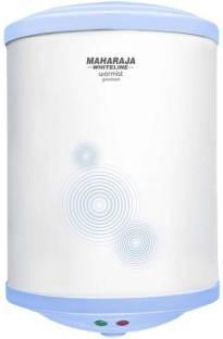 MAHARAJA WHITELINE 25 L Storage Water Geyser (WARMIST 25 LTR WATER HEATER, White and Blue)