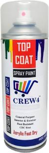 CREW4 General Purpose Interior & Exterior Rust Resistant Acrylic Fast Dry Lacquer Spray Paint 400 ml