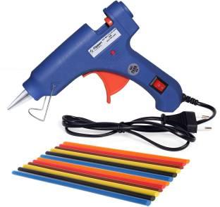 Flipkart SmartBuy 20W With 12 Fluroscent Stick s Hot Melt Glue Gun Blue Color For Art