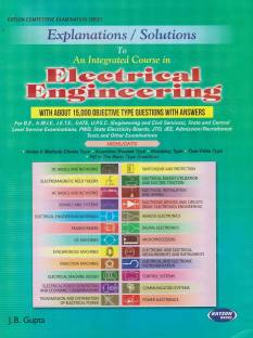 EXPLANATION/SOLUTION TO AN INTERGRATED COURSE IN ELECTRICAL ENGINEERING