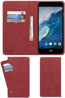 ACM Flip Cover for Lyf F1 Plus