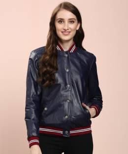 Flying MachineFull Sleeve Solid Women Jacket