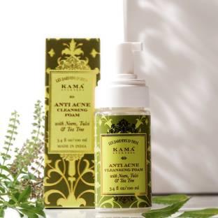 KAMA AYURVEDA Anti Acne Cleansing Foam Face Wash