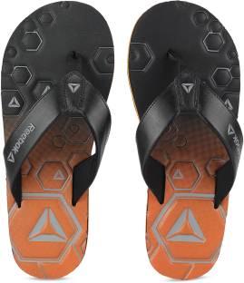 e969bf48796b REEBOK Flip Flops - Buy Black Color REEBOK Flip Flops Online at Best ...