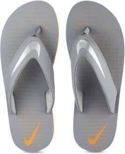 999c0630032 Nike KEESO THONG Slippers - Buy DARKGREY   ELCTRIC GREEN Color Nike ...