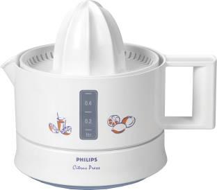 PHILIPS Citrus Press HR2771 25 W Juicer (1 Jar, White)
