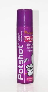 Potshot Toilet Seat Sanitiser (100ml) - A Sanitizer for every toilet Spray Toilet Cleaner