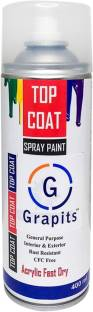Grapits General Purpose Interior and Exterior Spray Paint (Golden Yellow) Golden Yellow Spray Paint 40...