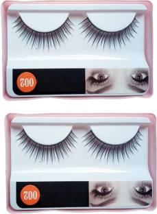 f3e2fcdc736 EAZYSHOPPE Imported 2 Pair Black Natural Thick Long False Eyelashes with  Adhesive - 002