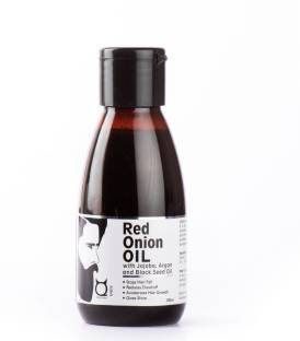 Qraa Red Onion Oil-with jojoba,Argan & Black seed oil Hair Oil