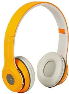 DRUMSTONE B460 Wireless Headphones with Mic and TF Card Slot with calling Bluetooth Headset