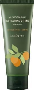 innisfree Essential citrus body Scrub