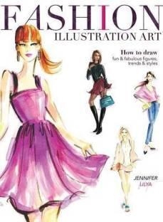 Fashion Illustration Buy Fashion Illustration By Kiper Anna At Low Price In India Flipkart Com