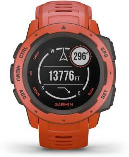 GARMIN Garmin Instinct Flame Red Smartwatch