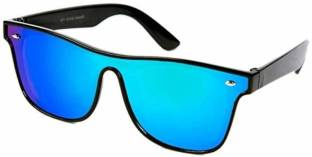 436b8958279 Buy Victoria Beckham Wayfarer Sunglasses Blue For Men Online   Best ...