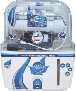 7ab91f5bbc6 Aquagrand AQUA SWIFT BL RO UV UF TDS CONTROLLER WITH 14 STAGE 10 L RO +.  Add to Compare
