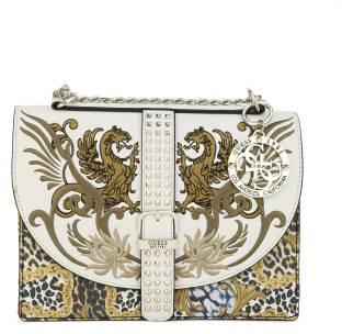 1d22e319a48a Mochi Women Casual Yellow Rexine Sling Bag 33-Yellow - Price in ...
