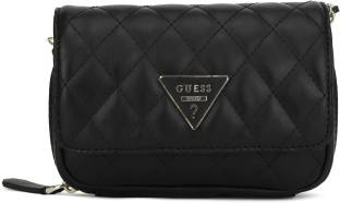 231f9266d0c8 Guess Women Casual Black Sling Bag Black - Price in India