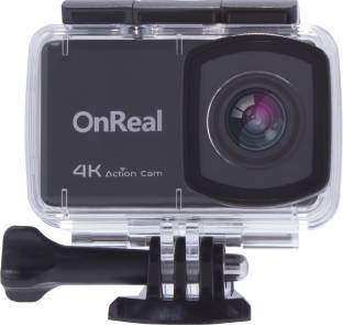 OnReal B1ACTION 4K 2.45 Touch Display with Wrist Controller, 170 Degree Wide View Angle Anti Shake, Tw...